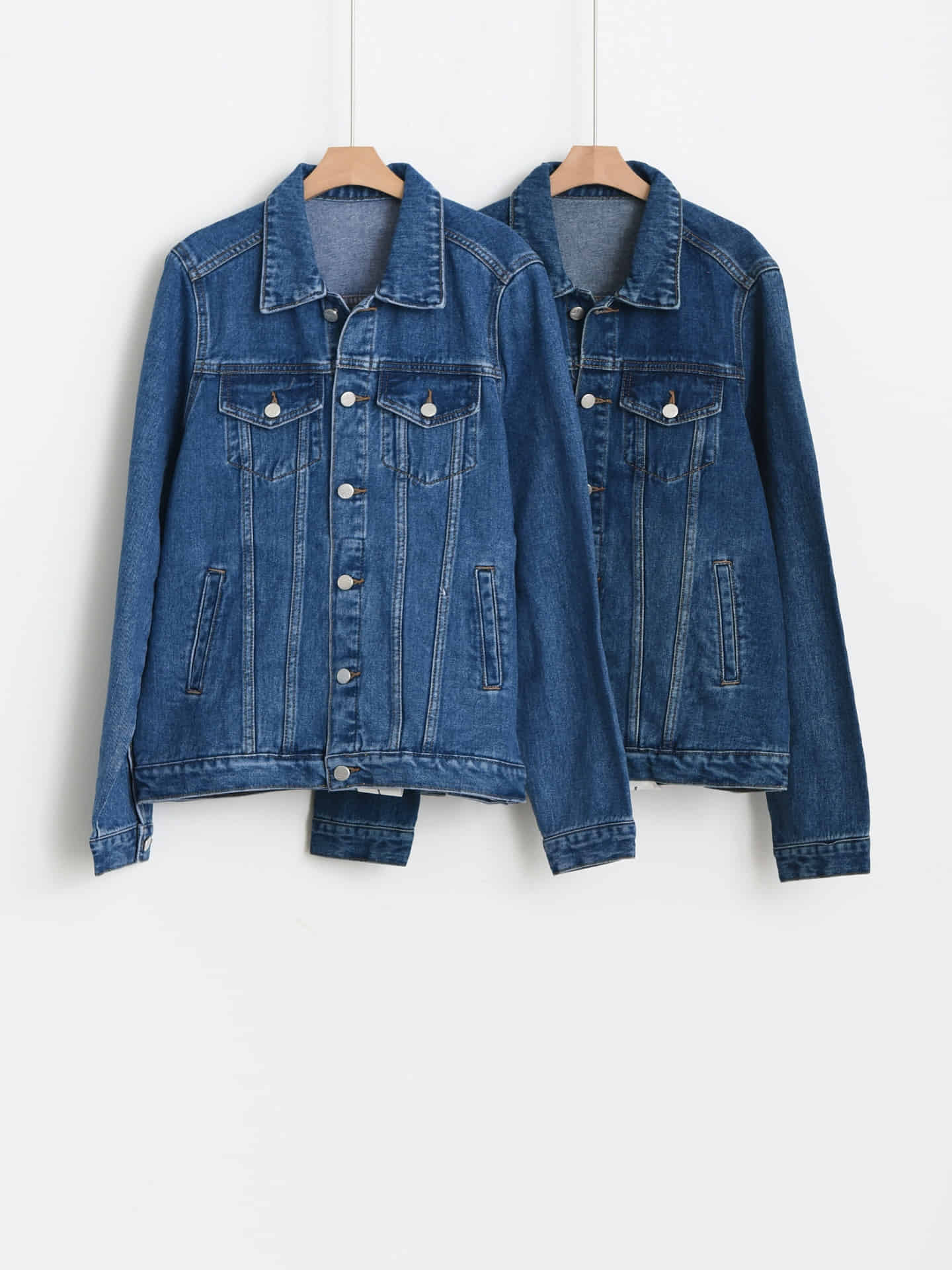 fall denim jacket 韓国通販 PirikaCloset