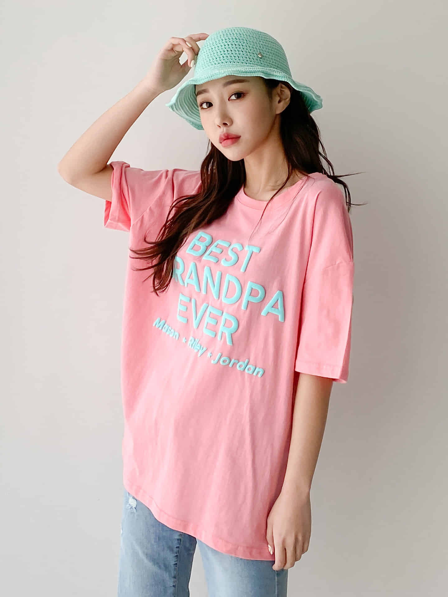 BEST RANDPA EVER T-shirt 韓国通販 PirikaCloset